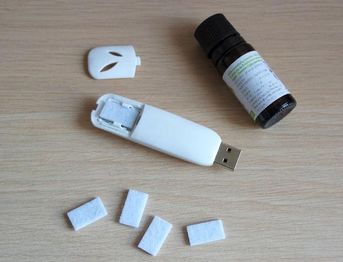 comment fonctionne le diffuseur d'huiles essentielles USB et décomposition de l'appareil